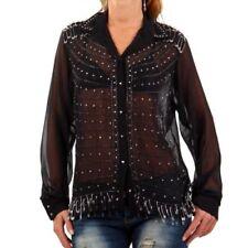 2XS Langarm Damenblusen, - Tops & -Shirts aus Baumwolle in Größe