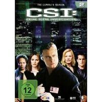 "CSI CRIME SCENE INVESTIGATION ""SEASON 2"" 6 DVD BOX NEU"