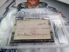 d1993 Helen Hayes auto 2008 RAZOR LEAF Beckett Slabbed cuts autographed signed