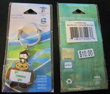 VANCOUVER 2010 MASCOT QUATCHI WINTER OLYMPIC GAMES GO CANADA OFFICIAL KEYCHAIN