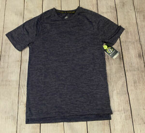 Mens Champion Fitted Athletic T-Shirt - Blue - Small XL XXL #d791