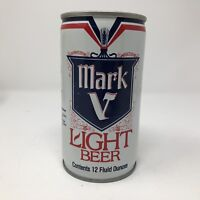 Vintage Mark V Light Beer Steel Can 12 Oz.