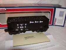 Williams Bachmann 48206 Nickel Plate Rd 55 Ton Outside Braced 2 Bay Hopper O 027
