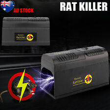 NEW RODENT KILLER ELECTRIC ELECTRONIC RAT MOUSE MICE REPELLANT TRAP AU STOCK