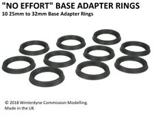 """No Effort"" 25mm to 32mm Base Adapter Rings Warhammer Age of Sigmar 40k"
