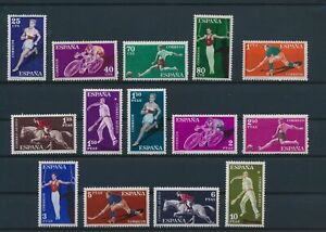 LN52693 Spain athletics sports fine lot MNH