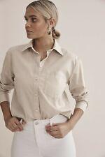 Country Road Soft Cotton Shirt - Natural