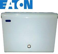 Eaton Enclosure 8 Way split Load Metal Consumer Unit 2P 100A Isolator EAS8H80DS