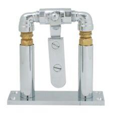 "air horn valve lever chrome floor mount stand 4"" set new universal truck semi"