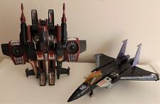 G1 transformers seeker jets Thrust and Skywarp with accessories