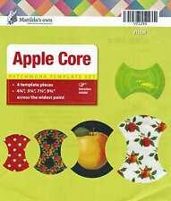 Matildas Own Apple Core Patchwork Template Set-4 Pieces