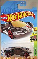 2018 Hot Wheels Kmart Exclusive HW Exotics 10/10 EXOTIQUE Mf Black w/Red RA Sp