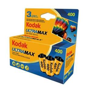 Kodak Ultra Max GC 400 Color Negative 35mm 24 EXP Film - Pack of 3