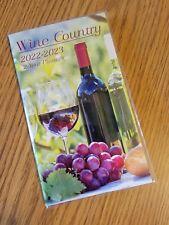 2022 2023 Wine Country 2 Year Pocket Monthly Planner Calendar Organizer