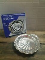 Chadwick Silver Plated Shell Dish  Candy Dish  Relish Tray Appetizer Plate