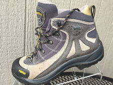 Women's ASOLO Gore-Tex Grey Hiking Trail Boots Shoes Size US 6.5