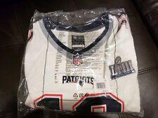 Nike New England Patriots Tom Brady Super Bowl LIII 53 Bound Game Jersey XXL