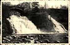 ~ 1940 Wasserfal bei COO Waterfall River Falls La Cascade Vintage Postcard