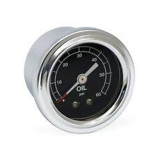 MANO PRESSION HUILE 60 psi HARLEY