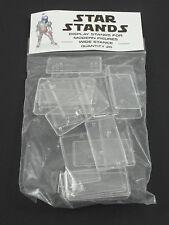 Pack of 20 Star Wars Modern Action Figure Display Stands Wide Stance POTF2