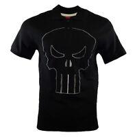 Mens Polo Shirt Tee PUNISHER MARVEL LEGENDS Frank Comics Logo BLACK NEW