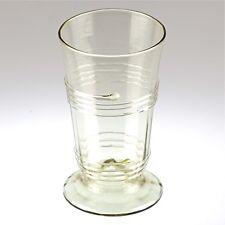 Replika Antik grün Glas mittelalter Spirale Trinkglas Waldglas Böhmen R4MC