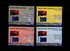 Papua- Neuguinea 1313-16 ** Flaggen , EU (2008)