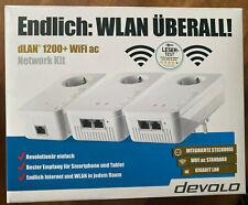 Devolo dLAN 1200+ WiFi ac Network Kit • wie NEU&OVP • Powerline 1.2 GBit/s