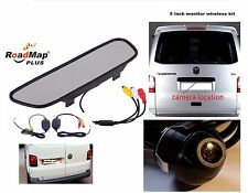 vw transporter t5 camper caravelle  t4 Wireless Rear reversing camera kit 025