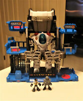 Fisher Price Imaginext Robot Police Headquarters with Robot & 2 Figures