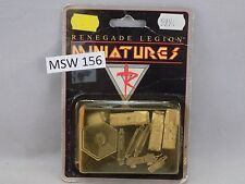 Renegade Legion Miniatures 3 AENEAS TOG LIGHT TANK metal New in Box (MSW 156)