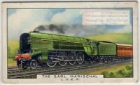 Scotland Earl Marischal Cock o The North Class Engine  80+ Y/O Trade Ad Card