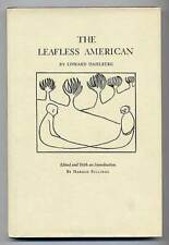 Edward DAHLBERG / The Leafless American First Edition 1967