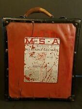 Vintage Msa All Service Gas Mask (Case Only) Pittsburgh Only