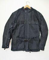Hein Gericke Motorcycle Jacket Medium Men black nylon leather