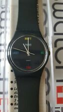 Swatch Don't Be Too Late GA100 1984 Standard Gents 34mm vintage box #2