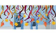Autumn / Fall Hanging Dangling Swirl Decoration Set (30 Pieces) - 670548