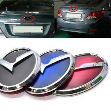 3D K Logo Trunk Rear Emblem Black Blue Red For Hyundai Accent 2011 2015