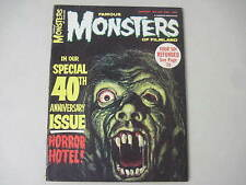 FAMOUS MONSTERS OF FILMLAND #40 AUGUST 1966 HORROR HOTEL RON COBB BELA LUGOSI