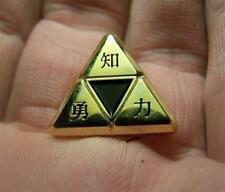 Rare The Legend of Zelda Kaijin Triforce Promo Lapel Pin Nintendo Retail Promo