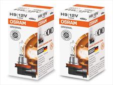 2x NEW OSRAM STANDARD HALOGEN OE H9 64213 FOGLIGHTS / HEADLIGHTS 12V 65W GERMANY