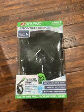 New listing Dolfino Frontier All-in-one Full Face Snorkel Mask Adult Large/X-Large NEW