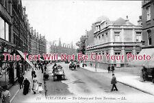 LO 310 - The Library & Tram Terminus, Streatham, London - 6x4 Photo