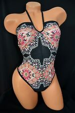 Exotic Dancer Stripper UV Glow One Piece Scrunch Thong Back Romper ~ Dancewear
