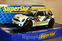 Slot SCX Scalextric Superslot H3400 BMW Mini Cooper S Team Scalextric Nº15