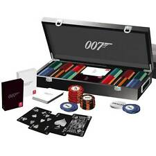 James Bond 007 LUSSO 300 POKER CHIP SET da Cartamundi Officially Licensed