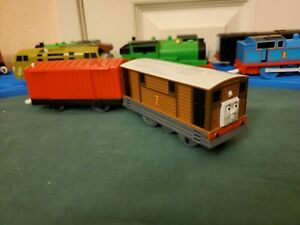Fisher Price Thomas & Friends Trackmaster Talking Toby the Tram Engine WORKS GUC