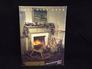 SEARS Christmas Catalog Wish Book 1983 - Star Wars ROTJ, GI Joe, Vectrex, Smurfs