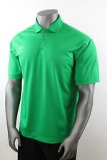 d4d10e5489f NIKE GOLF Dri-Fit POLO SHIRT Stretch Polyester Solid Green Men s XL