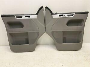 VW T5 GP Transporter Caravelle Front Door Cards Driver & Passenger side Grey